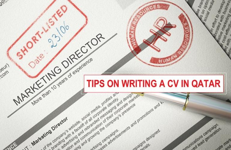 Cv And Resume Formats Used In Qatar