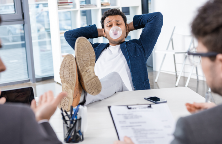 12 Things Not To Do During Job Interviews