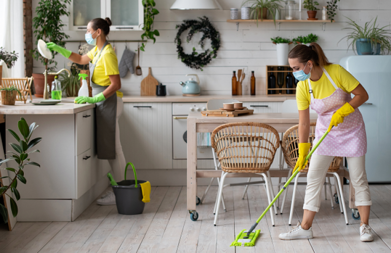 How Much Salary Does A Cleaner Or Housekeeper Earn In Doha? Find Out From This Outsourcing Service In Qatar