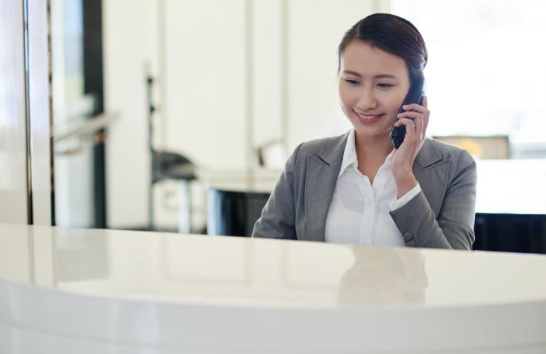 Hire The Most Qualified Receptionist For Your School With This Outsourcing Service In Qatar