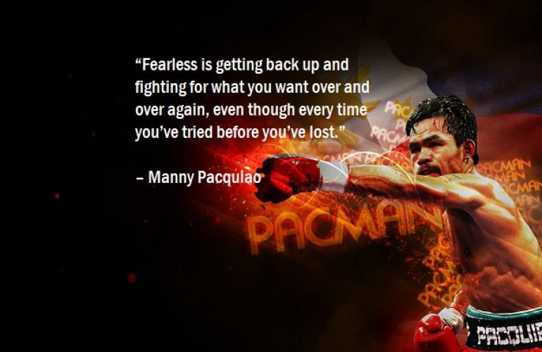 Still A True Legend: How Manny Pacquiao's  Inspiring Story Teaches Us To Succeed – Win Or Lose